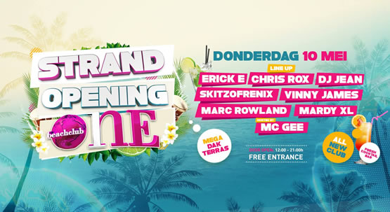 Strandopening Hoek van Holland Beachclub One